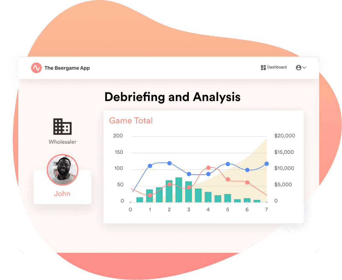 Interface view - Debriefing and Analytics